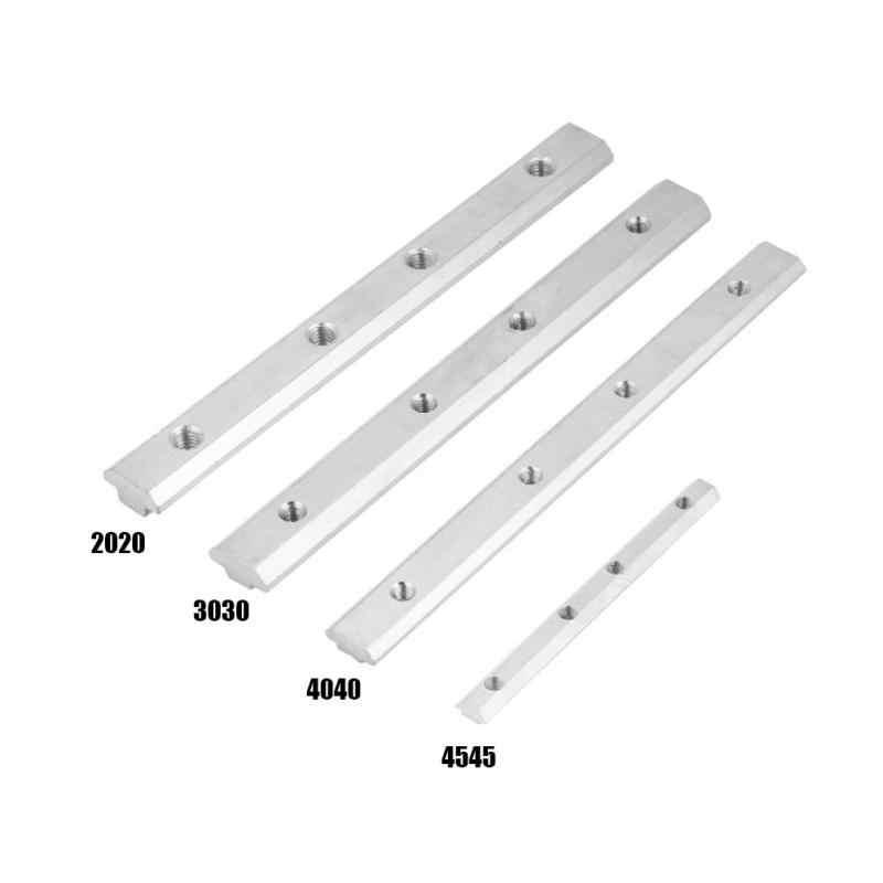 2020/3030/4040/4545 серийный алюминиевый профиль из углеродистой стали, прямые внутри разъем ЕС стандарт оптом