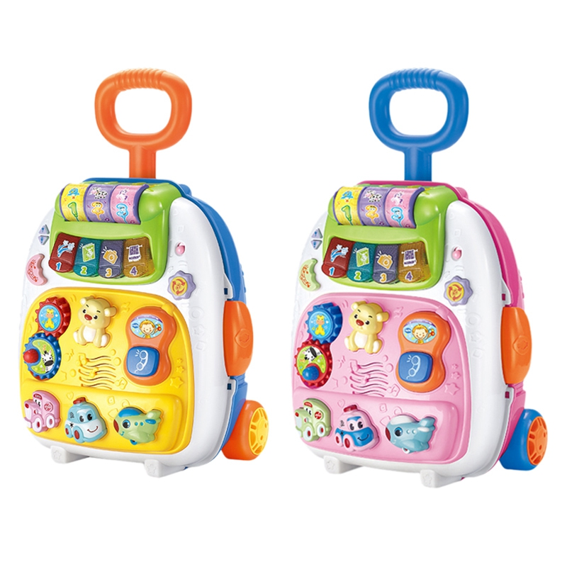 Valise pour enfants sac à dos léger valise transportant la roue de bagage - 6
