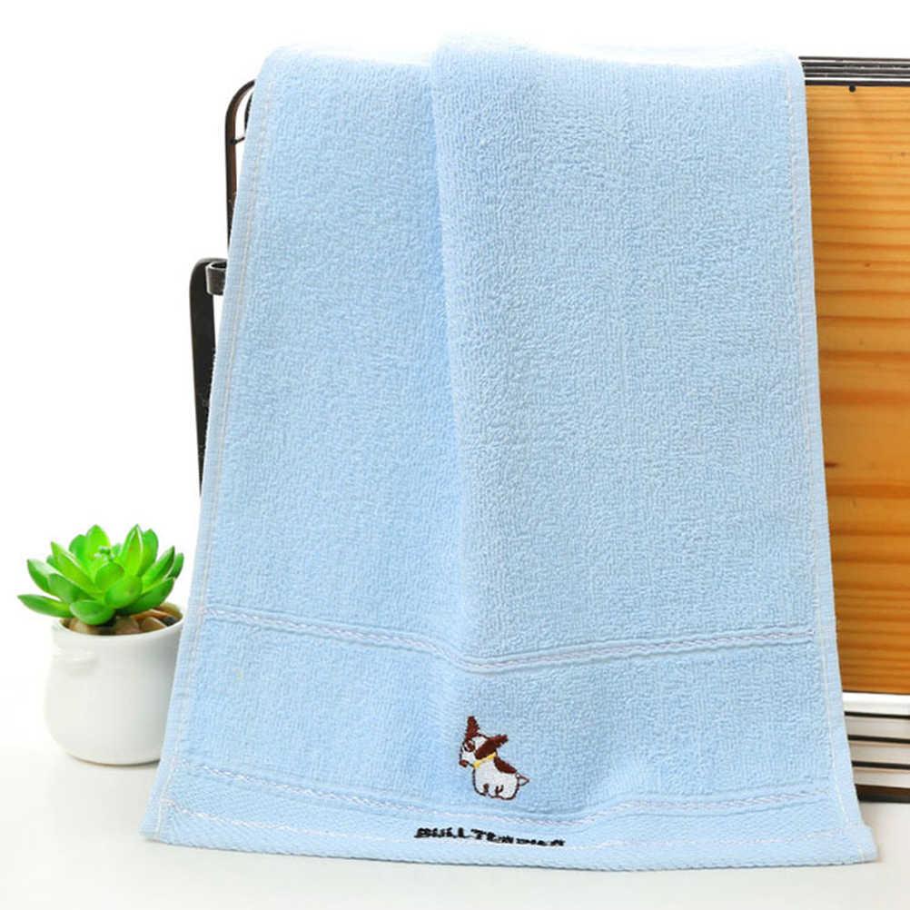 4 sztuk bawełna ręczniki sportowe Cartoon szybkie wchłanianie śliczny ręcznik dla domu dzieci sport podróże