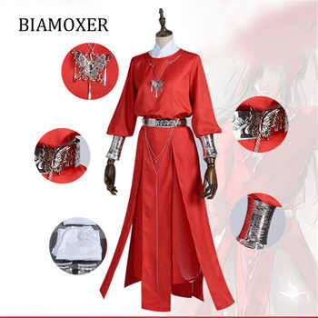 Hua cheng Cosplay Tian guan ci fu Black Long Cosplay Costmes all set - DISCOUNT ITEM  38% OFF All Category