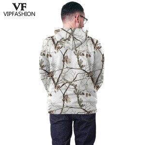 Image 4 - VIP FASHION Camouflage Hoodie Sweatshirt Men 3D Printed hunting  Plum Flower Tree Hoodies Unisex Hiphop Streetwear Sweetshirts
