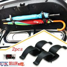 2X автомобильный ремень для подголовника держатель зонта организатор сумки багажник крюк багажника зажимы