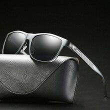 Aluminum Magnesium Mens Sunglasses Brand Designer Polarized UV400 Shades For Women Glasses Driver Vintage Retro Male Accessories