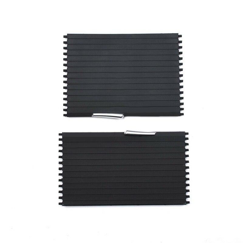 Ensemble de couverture de store enrouleur de Console centrale de voiture pour BMW X5 X6 E70 E71 2007 08-2014