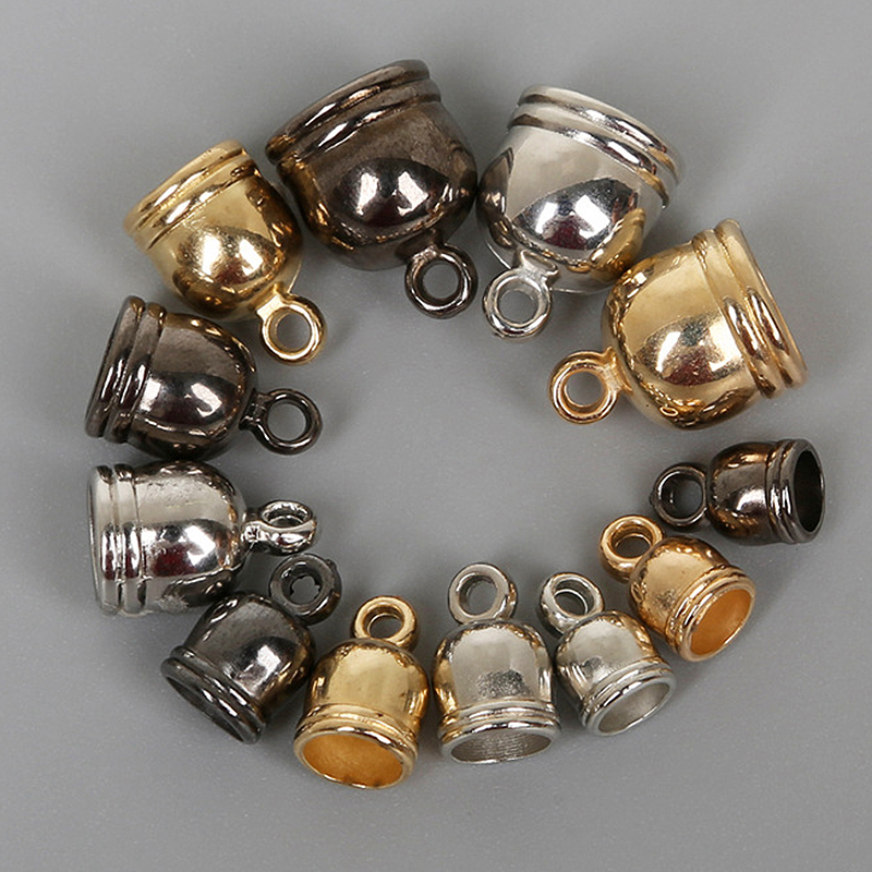 0.2-1 mm Golden Silvery Cord String Iron Wire Thread Beads Bracelet Adjustable