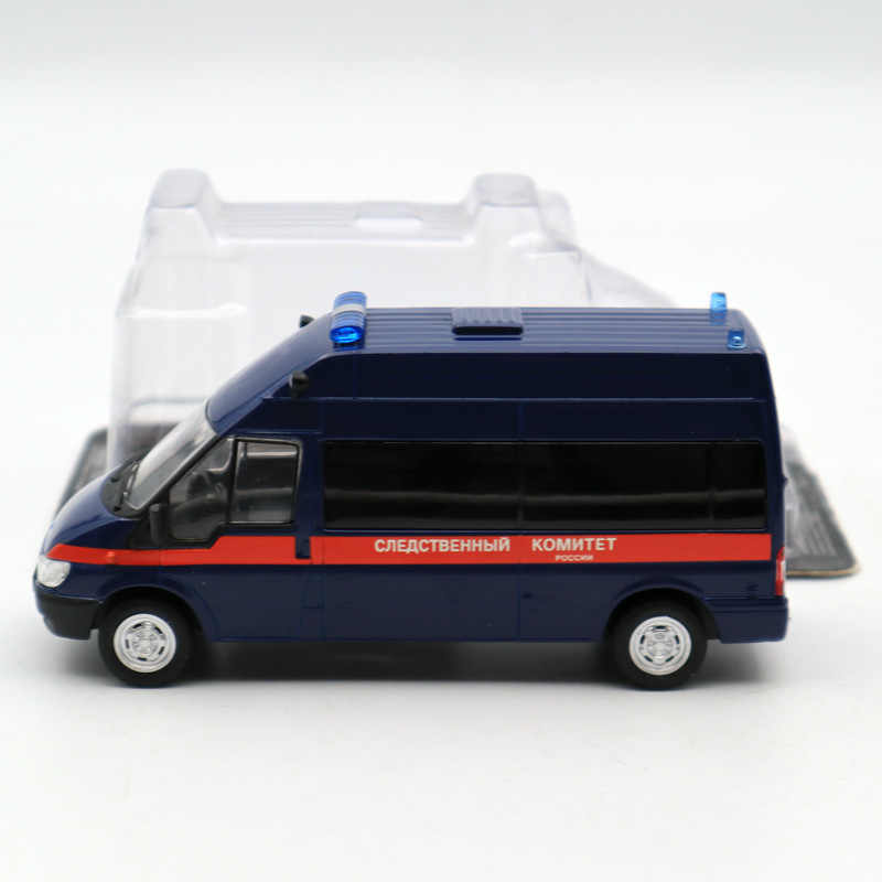 DeAgostini 1:43 Ford Transit Russian prosecutors & mag №37 cars USSR Diecast Models Limited Edition Collection