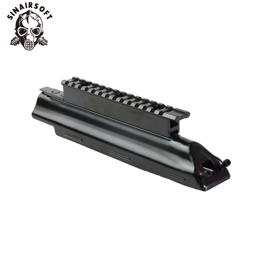 AK47 MAK90 Top Receiver Cover Scope Mount Base Dust Cover with Picatinney Top Rail MNT-<font><b>970A</b></font> image