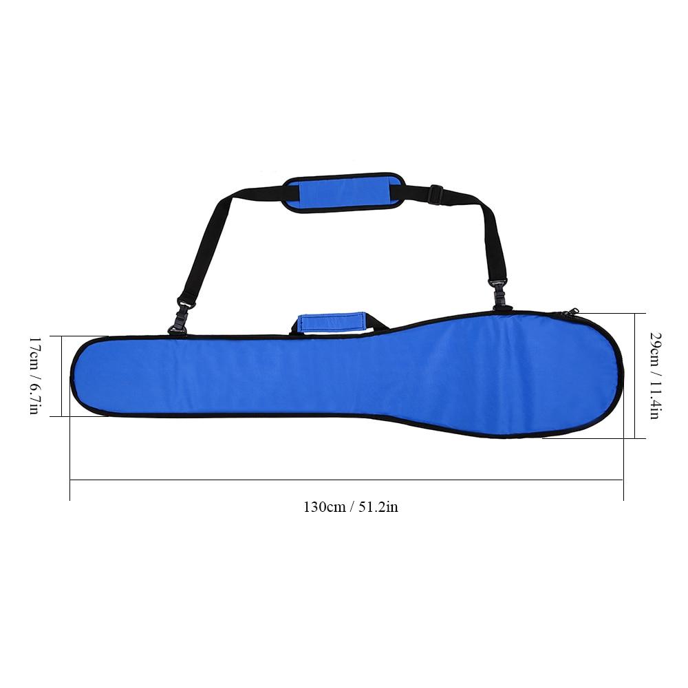 2019 Kayak Paddle Bag Long Boat Canoe Paddle Storage Bag Holder Pouch Cover Water sport Boat Kayak Cover kayak storage cover Bag in Surfing from Sports Entertainment