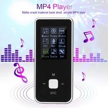 Мини Портативный мультипликационный MP4 музыкальный плеер Поддержка TF карты AMV поддержка MP3 игры с наушником встроенный аккумулятор