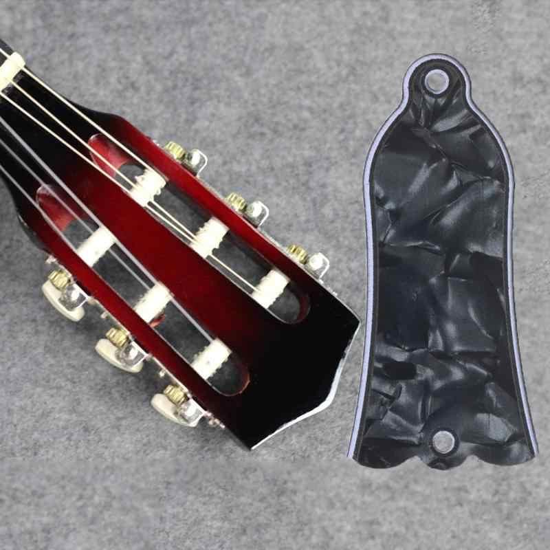 Guitare botte tige cache plaque 2 trou pour Gibson Style pour Les Paul pour LP guitare noir perle couleur Instrument de musique accessoires
