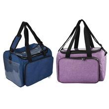 Вязальные крючки нить и пряжа для хранения сумка органайзер DIY держатель шерсть для вязания крючком, крючки, станок и Вязание иглы швейный набор «сделай сам», сумка для хранения