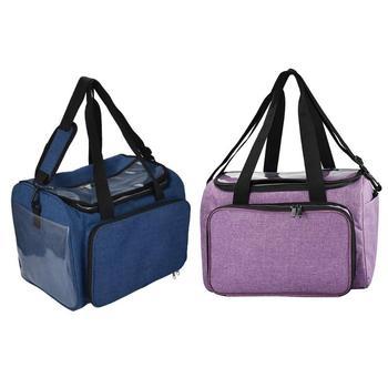 Crochet Hooks Thread Yarn Storage Bag DIY Organizer Holder Wool Knitting Needles Sewing Set - discount item  25% OFF Arts,Crafts & Sewing