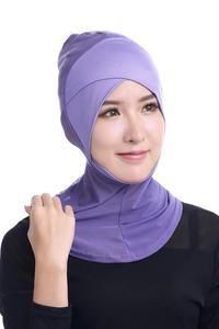Image 3 - ใหม่ล่าสุด CHIC LADY Modal Hijab ฤดูร้อนผู้ใหญ่ผ้าพันคอ Hijabs อิสลามหมวก Bonnet นินจาคอมุสลิม Underscarf