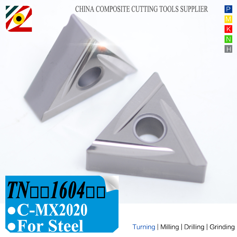 EDGEV Cermet Carbide Inserts TNMG160404 08 TNGG160402 04 R L C MX2020 CNC Lathe TurningTools For Substitute TNGG160402 04 C TN60 in Turning Tool from Tools
