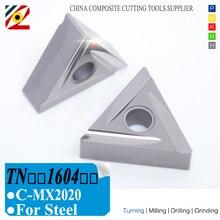 EDGEV Cermet Carbide Inserts TNMG160404/08 TNGG160402/04 R/L C MX2020 CNC Lathe TurningTools For Substitute TN60
