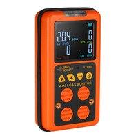 4 в 1 цифровой ЖК дисплей детектор газа O2 H2S CO НПВ монитор газоанализатор мониторинга качества воздуха газовый тестер счетчик окиси углерода