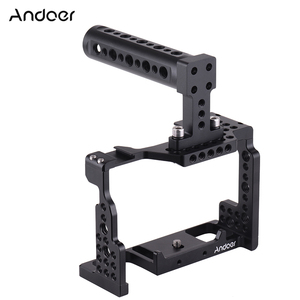 Image 1 - Andoer Camera Cage + Top Handle Kit Video Stabilizzatore Lega di Alluminio W/Fredda Shoe Mount per Sony A7II/ a7III/A7SII/A7M3/A7RII Macchina Fotografica