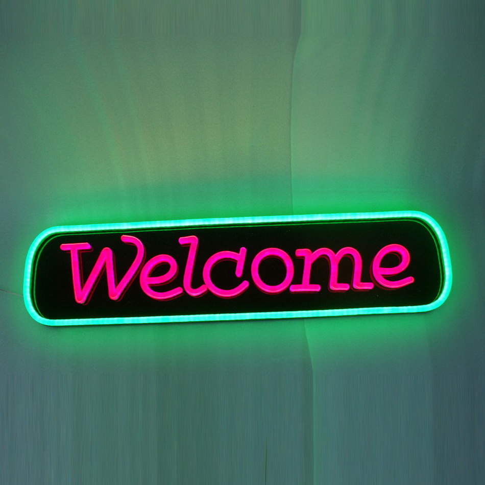 China electronic led light letters home party decorative custom acrylic led neon sign