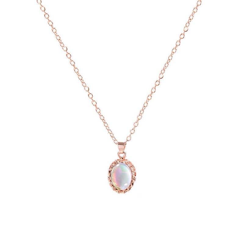אופנה חדשה אלגנטיות נשים עלה זהב קריסטל שרשרת טבעת עגיל תכשיטי ערכות מתנה
