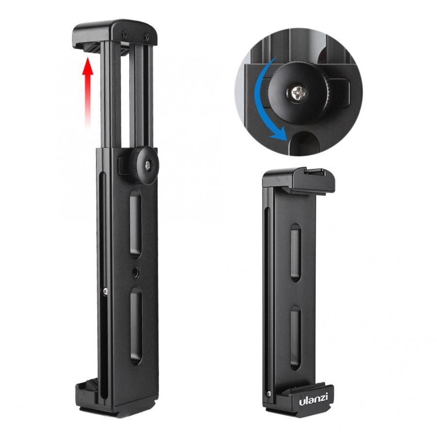 Ulanzi U-Pad Pro Tablet Alumínio Tripé Montar Titular da Braçadeira Sapata Fria Para iPad Pro para iPad Mini câmera tripé