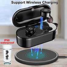MB2 TWS Wireless Earphones Bluetooth Headset IPX8 Waterproof 12Hrs Work Earbuds In ear buds For Xiaomi Samsung iPhone Earphone new bluetooth earphone port cordless wireless 3d earbuds stereo in ear bluetooth 5 0 ipx8 waterproof wireless ear buds earphone