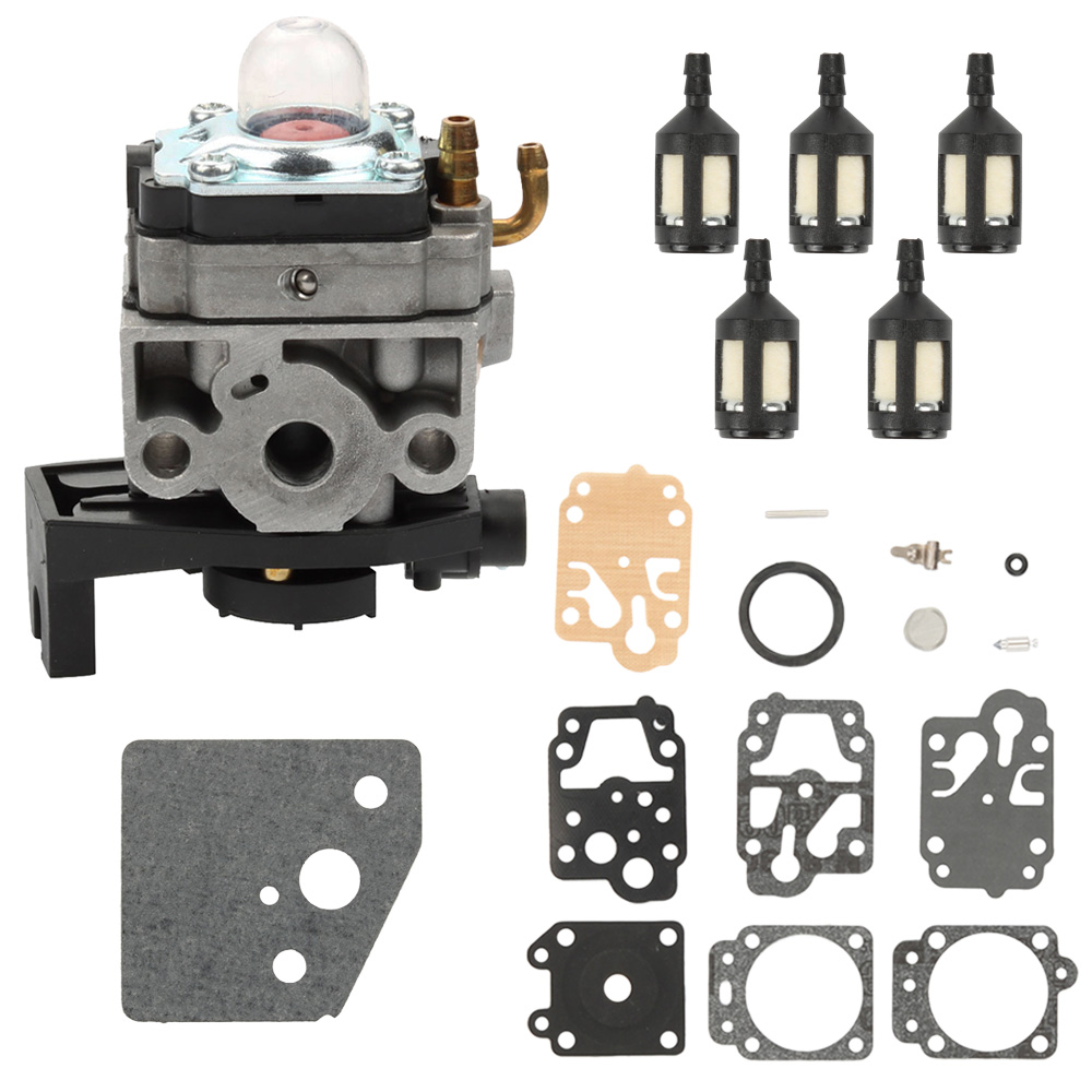 Carburetor Carb Repair Kit Fuel Filter For Honda GX35 HHT35 HHT35S Engine Gas Trimmer Brushcutter Generator 16100-Z0Z-034