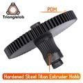 Trianglelab 3d impresora Titan extrusora nuevo metal de Hobb (de acero endurecido) Envío Gratis reprap mk8 i3