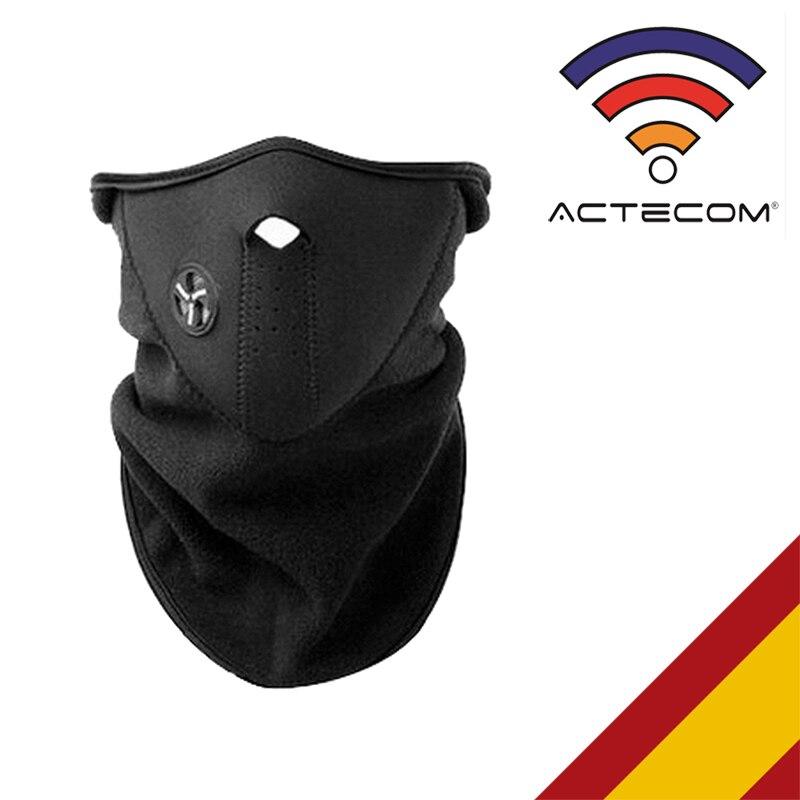 ACTECOM Mascara Neopreno Cuello De Cara Protección Para Senderismo Esqui