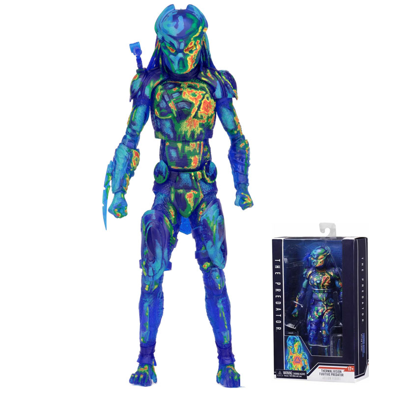 2018 film prédateur sens de la Hotness Alien Hunter série NECA PVC figurines jouets Anime figure jouets pour enfants enfants cadeaux