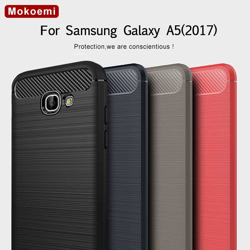 Mokoemi Fashion Shock Proof Soft Silicone 5 2 For Samsung Galaxy A5 2017 Case For Samsung