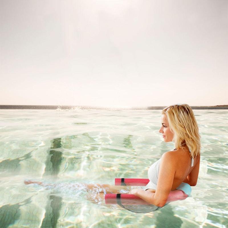 1 Pc Schwimm Stuhl Net Schwimm Pool Nudel Sling Mesh Für Pool-party Kinder Bett Sitz Wasser Entspannung Dropshiping Ruf Zuerst