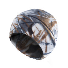 Winter Outdoor Sport Riding Cap Bionics Jungle Camouflage Semi-circle Skiing Catch Down Keep Warm Hats(China)