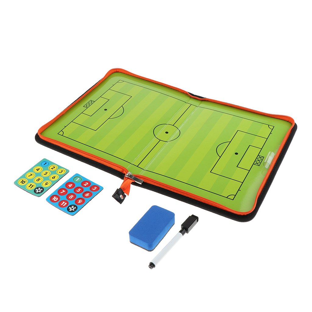 Soccer Coaching Board Strategy Tactics Clipboard Football Game Match Training Plan Accessories