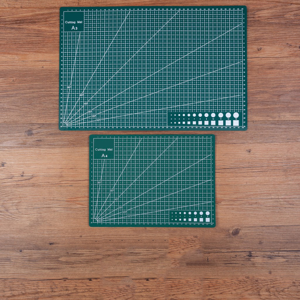 A3 Cutting Mat for Scrapbooking Quilting Sewing Green