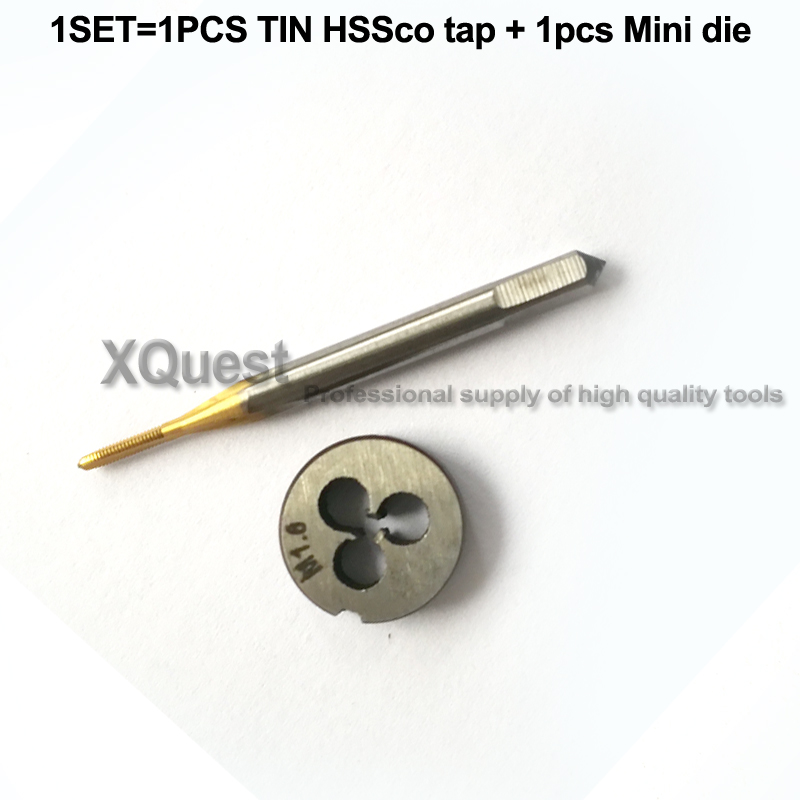 ú M1.7 x 0.35 HSS Fully Ground Quality TAP SET NEW