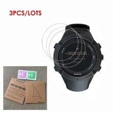 Paquete de 3 protectores de pantalla para reloj inteligente deportivo Suunto Ambit 3, Protector de pantalla transparente a prueba de explosiones, película protectora de golpes