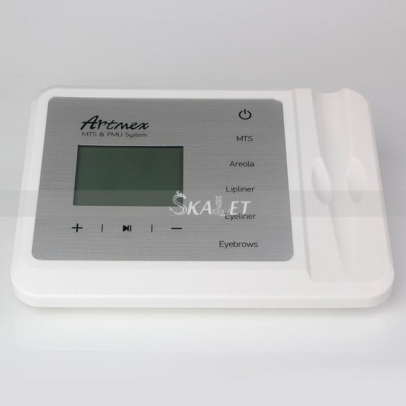 Stylo rotatif Portable Micropigmentation Micro-aiguille Cure acné cicatrice 11 niveaux de vitesse