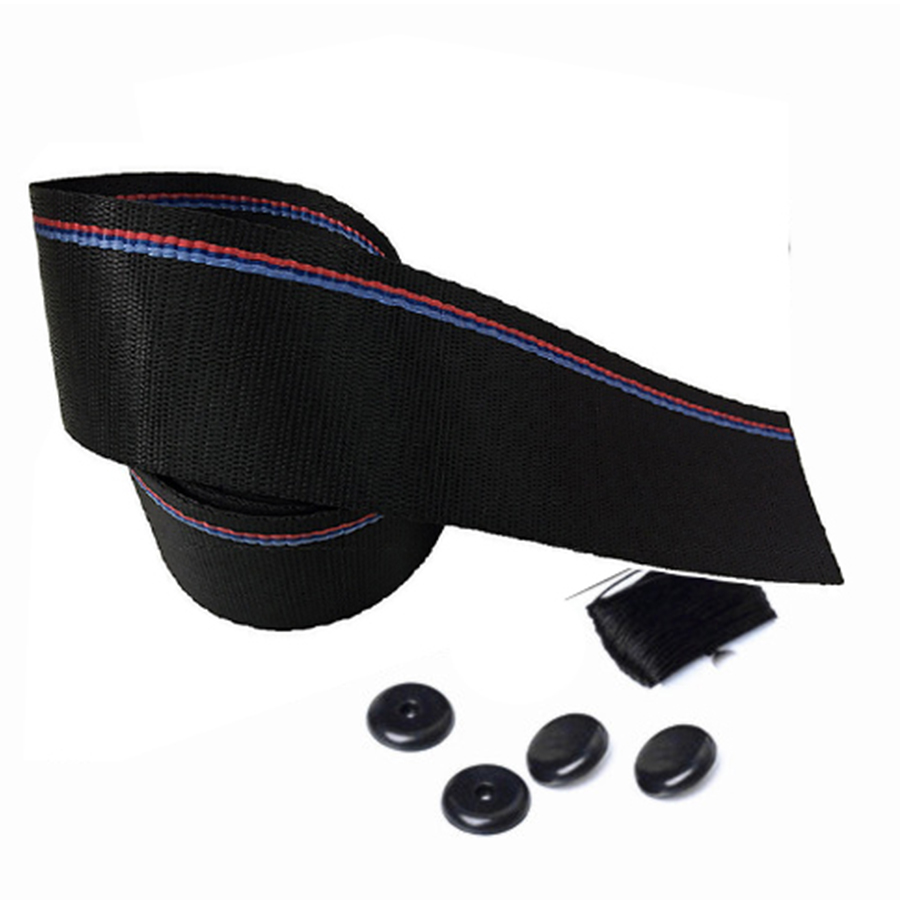 Image 4 - 3.8m Car Seat Belt Auto Safety Webbing Racing Harness Ribbon Blue Red Wholesale For BMW-in Seat Belts & Padding from Automobiles & Motorcycles