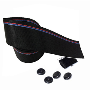 Image 4 - Ceinture de siège de voiture, sangle de sécurité pour véhicule automobile, 3.8m, ruban de course bleu, rouge, vente en gros