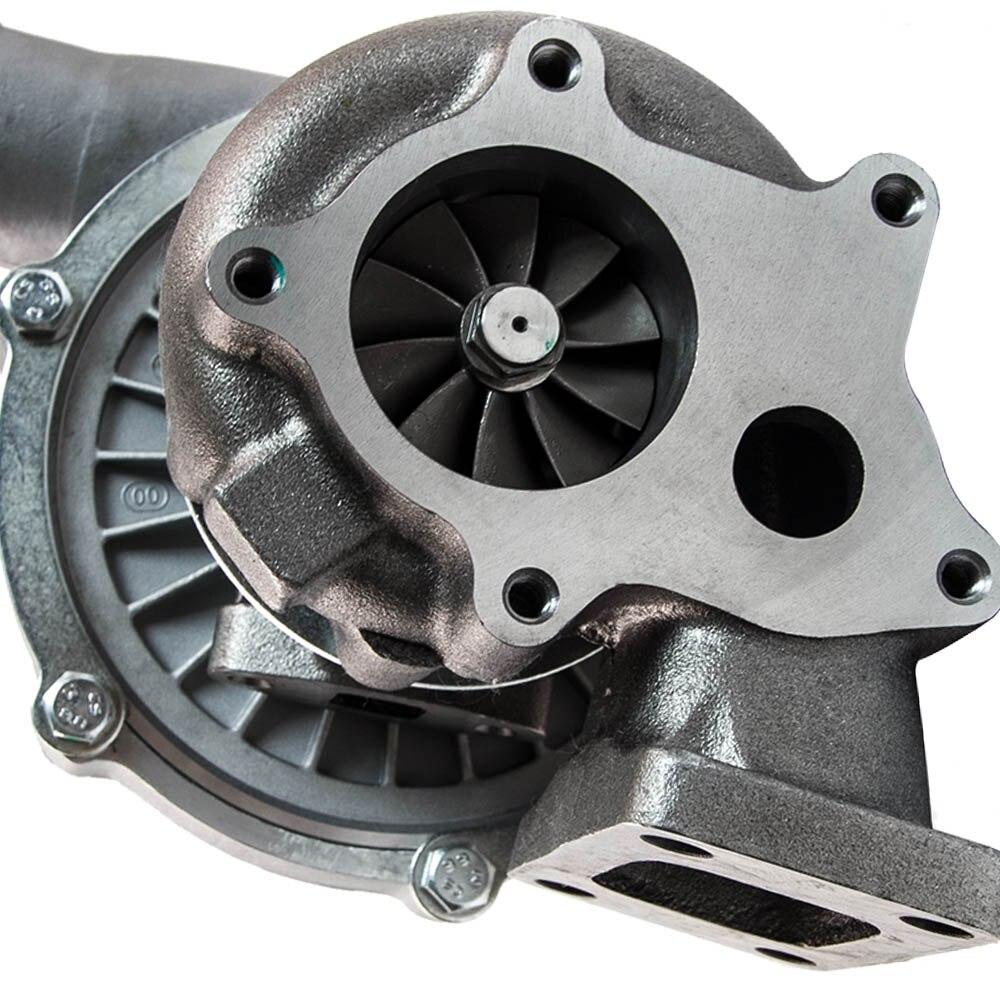 T04e t3/t4 a/r.57 73 guarnição 400 + hp fase iii turbo carregador + alimentação de óleo + linha de drenagem kit para scion tc xb xa xd paseo - 4