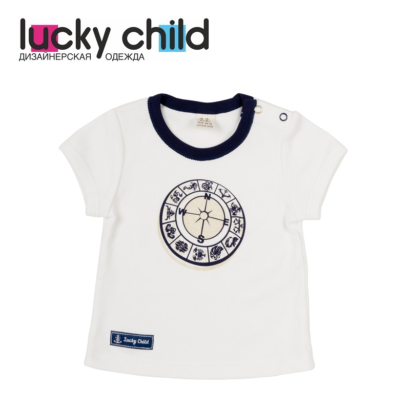 T Shirts Lucky Child for girls 28-36D (3M-18M) Top Baby T Shirt Kids Tops Children clothes new baby girls t shirt brand round neck kids clothes tshirt printed cute red rabbit pattern next clothing style for 18m 6t