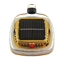 Cob Solar Lanterns Led Tent Camping Lamp Usb Flashlight Rechargeable Battery Tent Light(China)