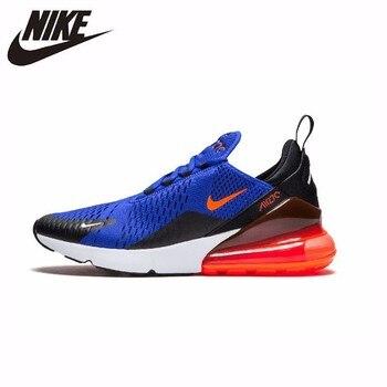 Nike Air Max 270 Original recién llegado hombres zapatos cómodos transpirables deportes al aire libre zapatillas # AH8050 401