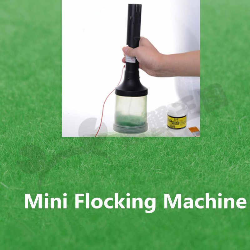 Mini przenośny statyczna trawa stado aplikator do O HO w skali N Model pociągu dekoracje Home Craft DIY narzędzia