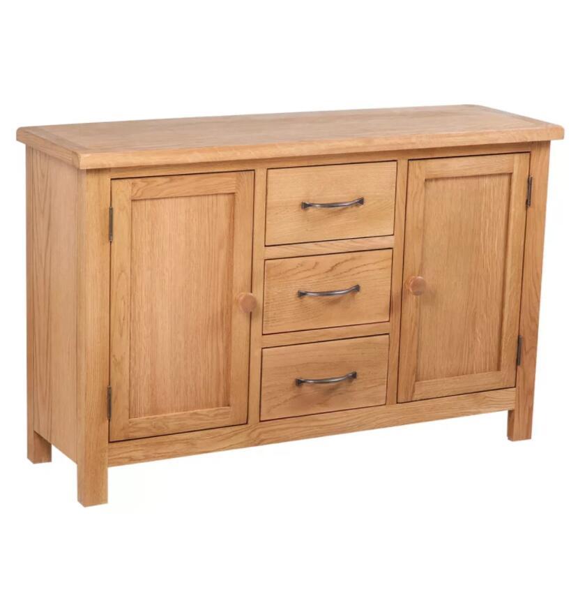 vidaXL Buffet cabinet Large Oak Dolap Kaplama Desk Dolabi Retro Meuble Cupboard Kitchen Furniture Sideboard Cabinet
