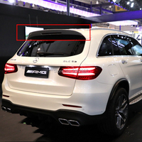 for benz W253 glc 200 glc260 glc300 suv ABS Plastic Unpainted Color Rear Roof Spoiler Wing Trunk Lip Boot Cover Car Styling
