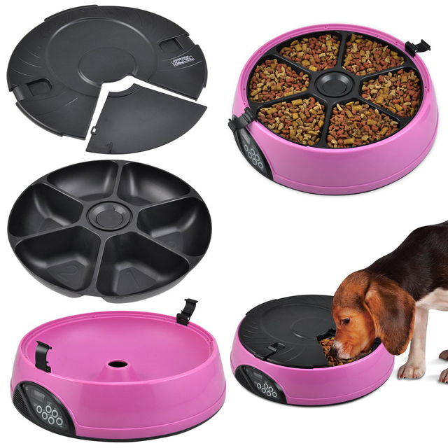 6 Meals Automatic Feeder Bowl  5