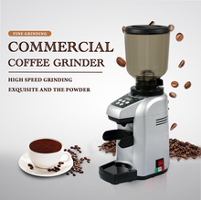 ITOP Commercial Coffee Grinder Bean Dry Food Milling Machine Burr Grinders Tools