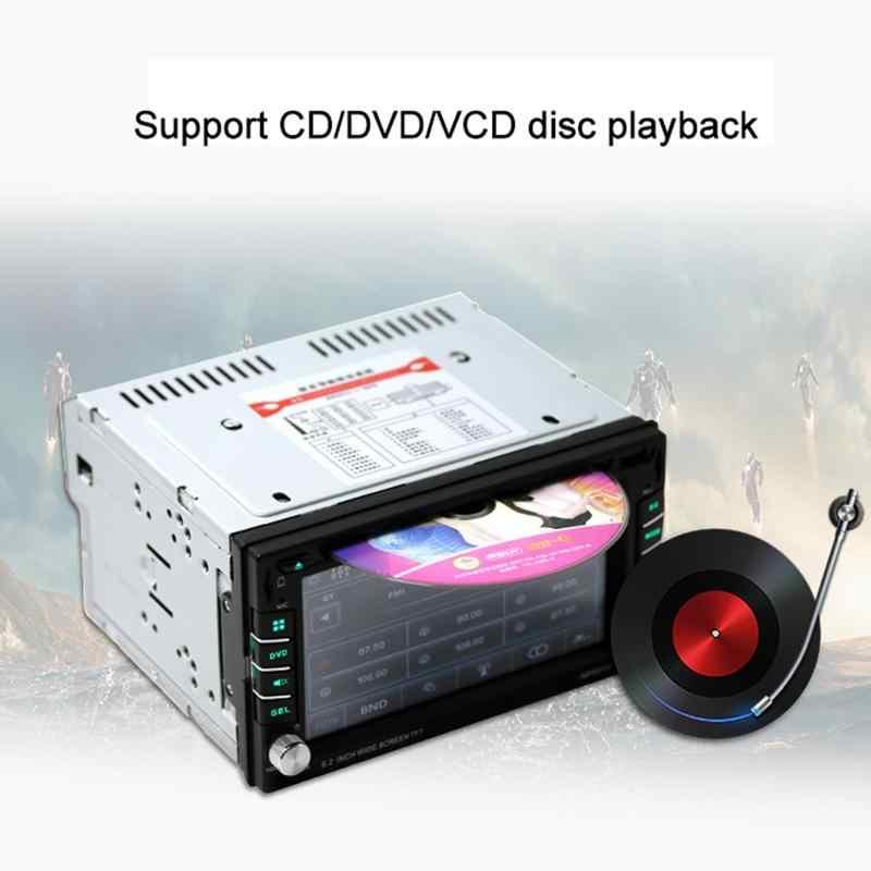 2018 универсальный автомобильный Радио Авто dvd-плеер gps навигация fm-радио Поддержка беспроводной пульт дистанционного управления