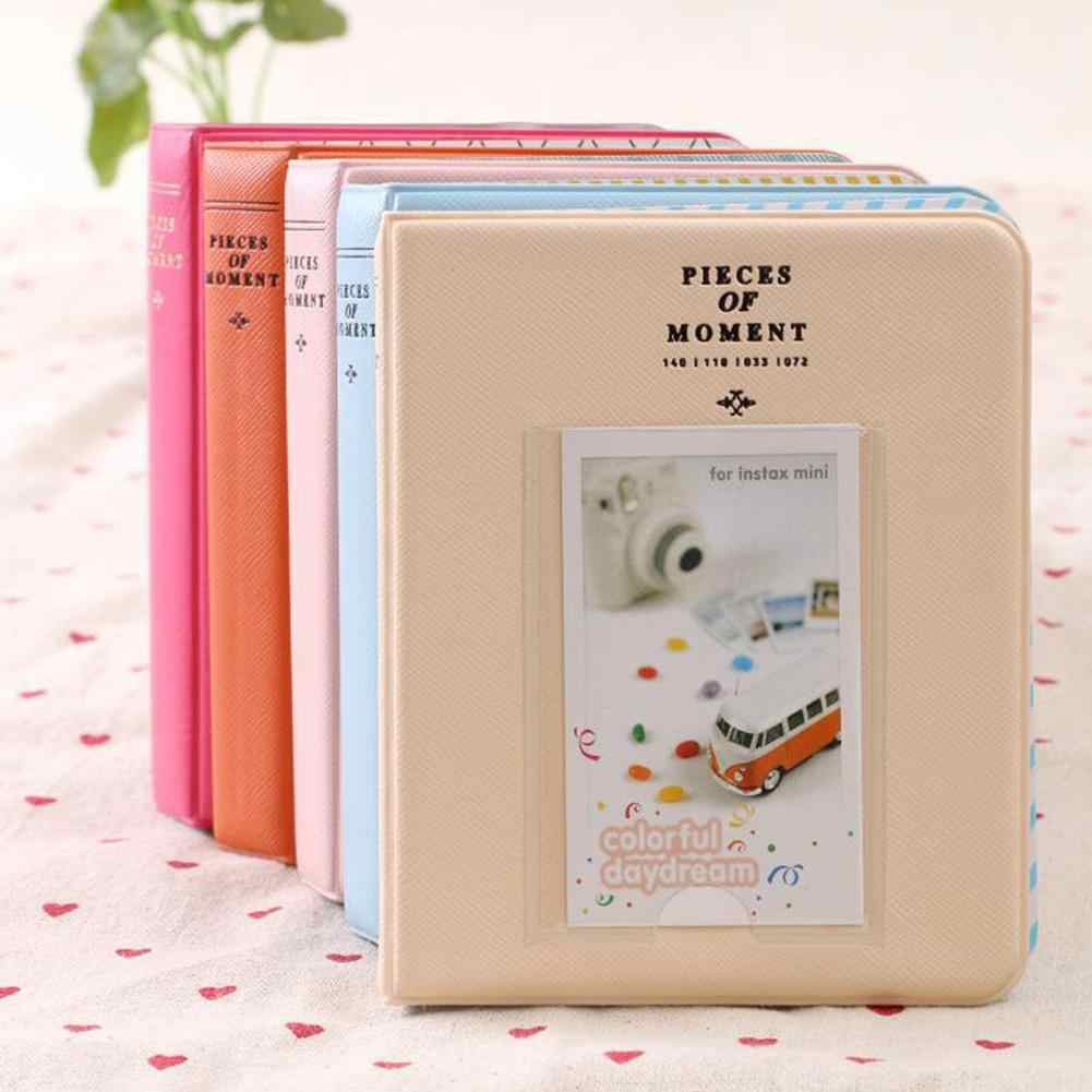 64 Pockets 3 inch Mini Instant Polaroid  Memory Storage Photo Album Picture Gift Holder for Fujifilm Instax Instant Picture Case